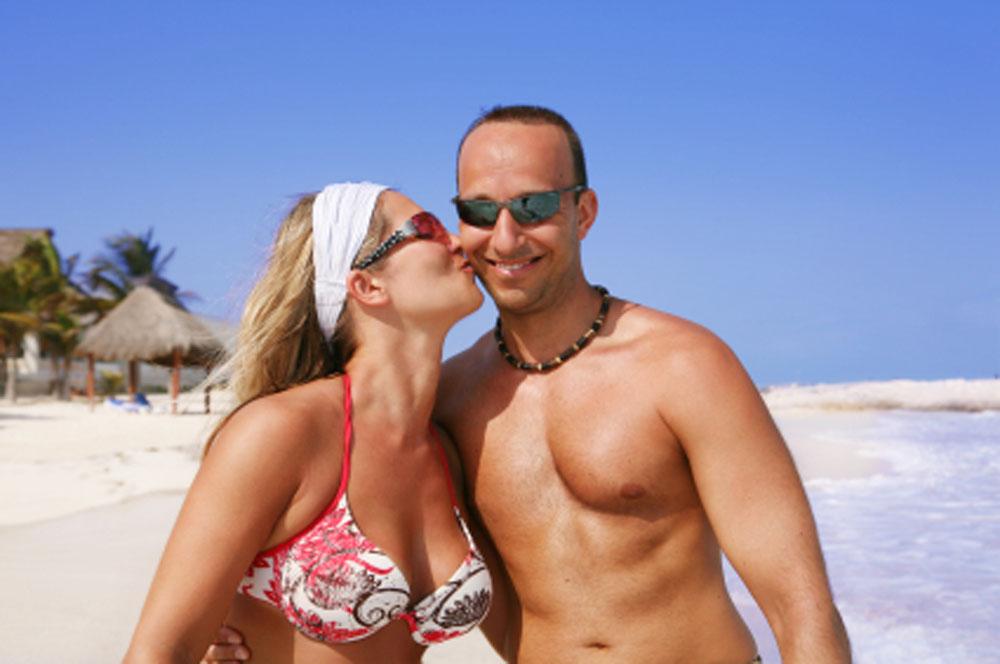 Playa Del Carmen En Plan Romántico