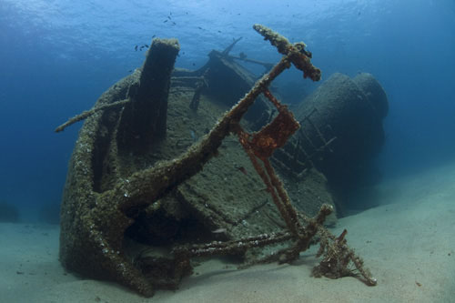 Barcos Hundidos En Aguas Mexicanas