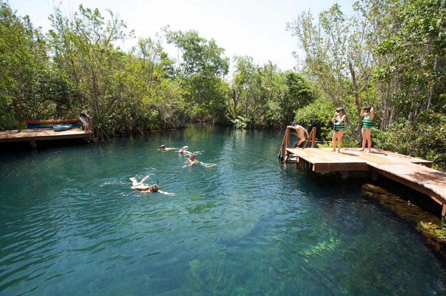 Parque Tres Ríos, Quintana Roo