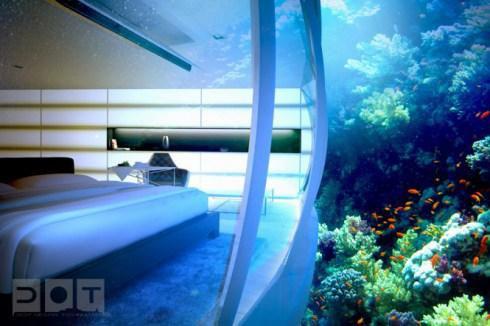 Hospédate En Un Hotel Bajo El Agua