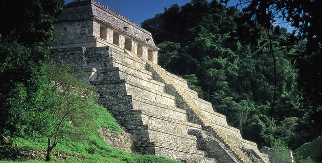Palenque Capital Del Mundo Maya En Chiapas