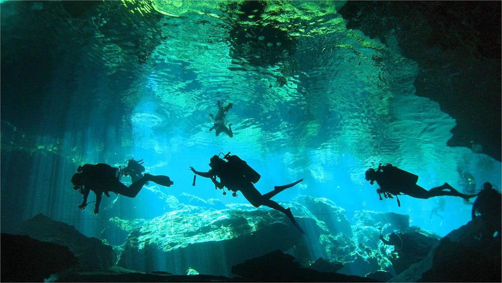 Cenote  Chac Mool, Quintana Roo