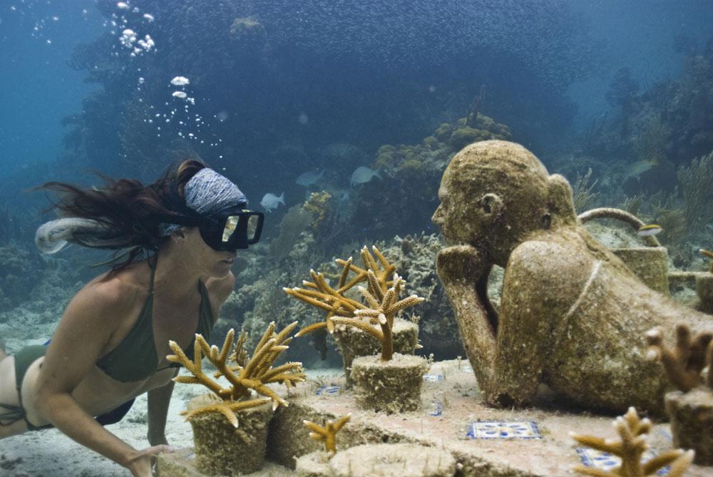 Mahahual Y El Museo De Arte Subacuático (MUSA) En Quintana Roo