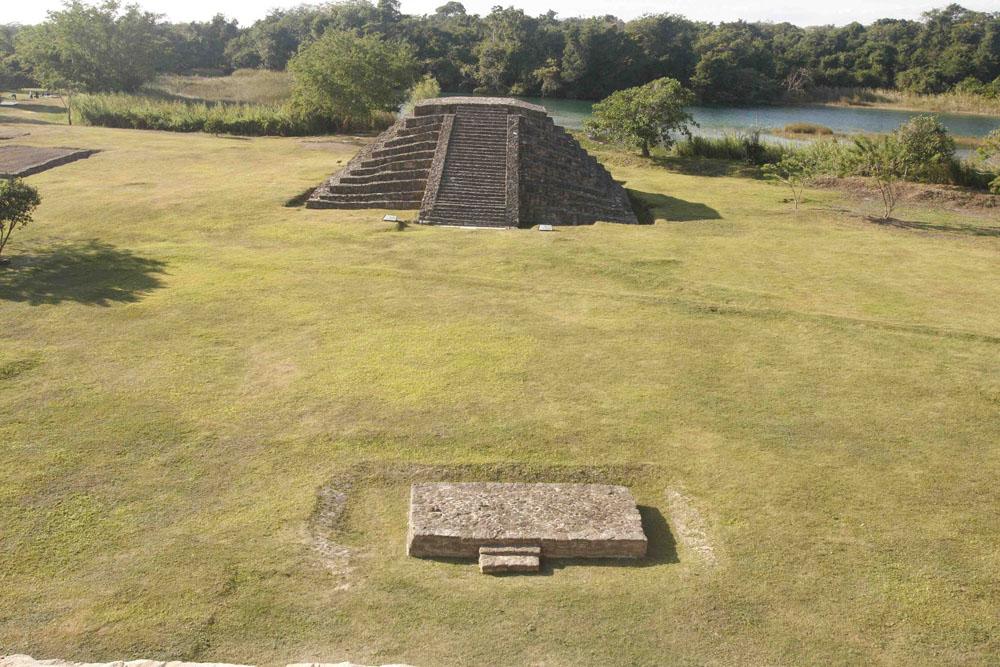 Sitio Arqueológico De Lagartero En Chiapas