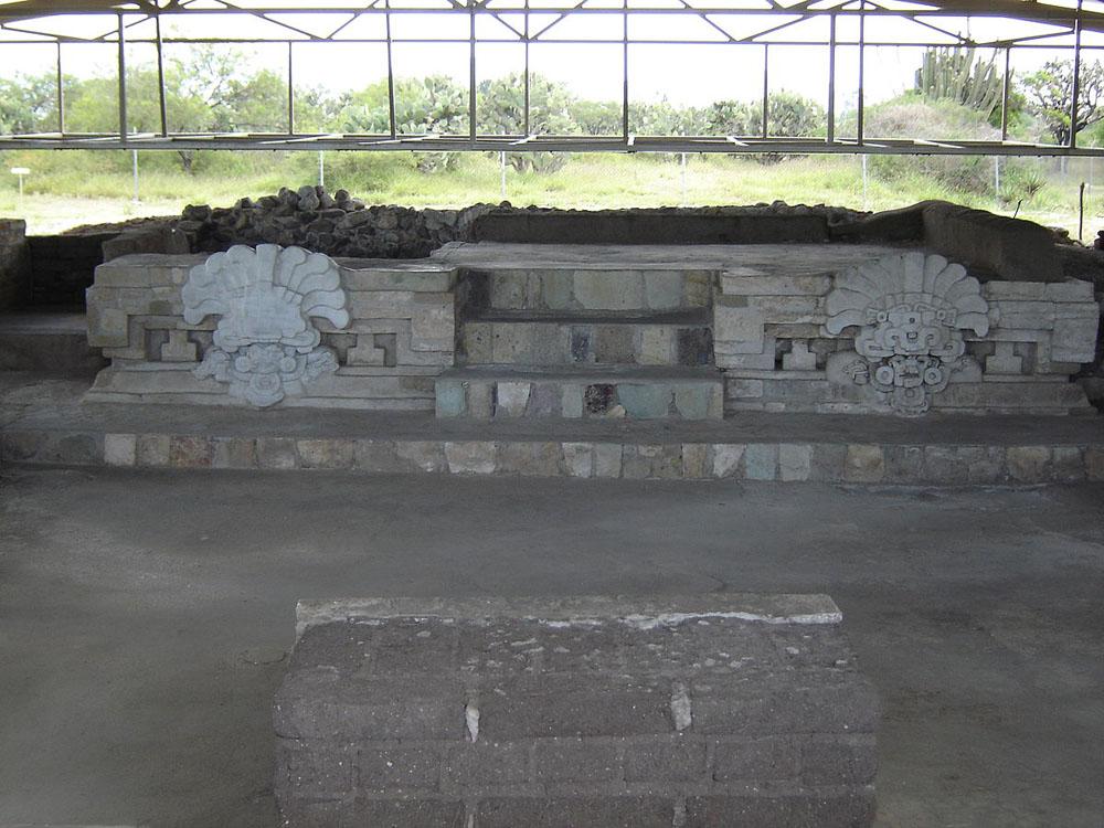 Sitio Arqueológico De Lambityeco En Oaxaca