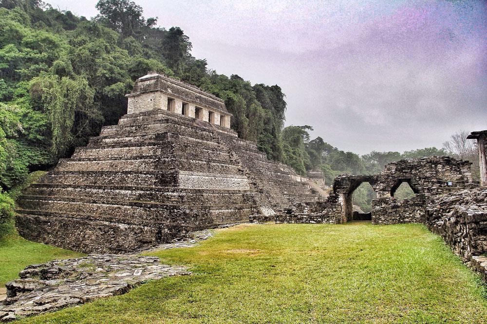 Palenque, Ciudad Prehispánica En Chiapas