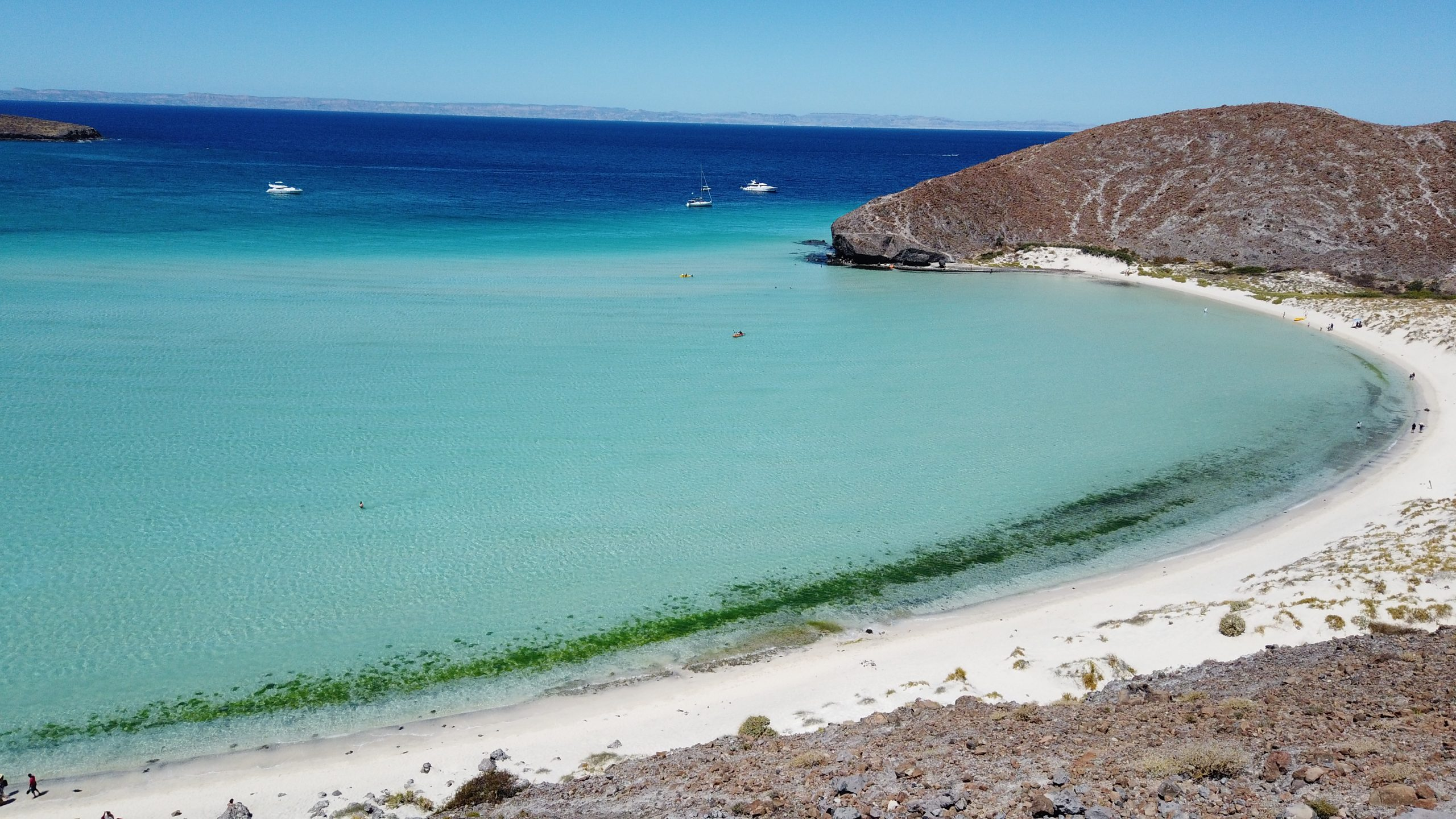 Opciones Turísticas En Balandra, Baja California Sur