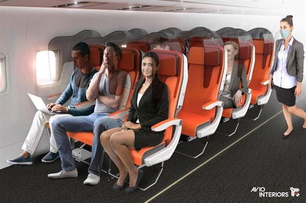 Diseñan Asientos Especiales Para Evitar Contagios De Covid 19 En Los Aviones